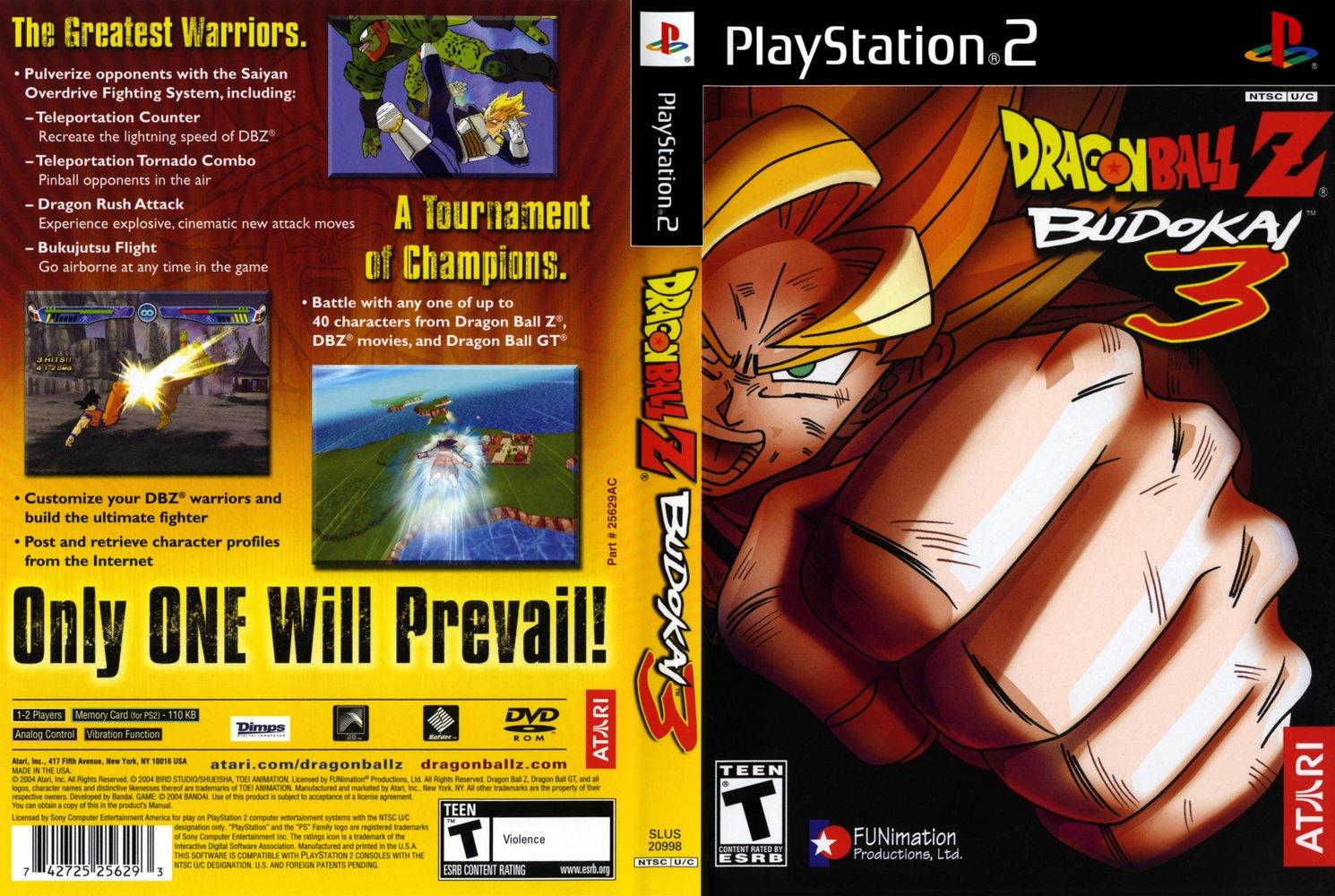 Recordando os jogos de Dragon Ball ? pt.II: Budokai 3